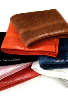 Rätik Sibel Bleachproof , punane-0