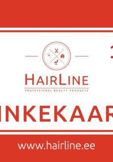 HairLine kinkekaart 10€-0