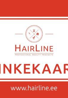HairLine kinkekaart 50€-0