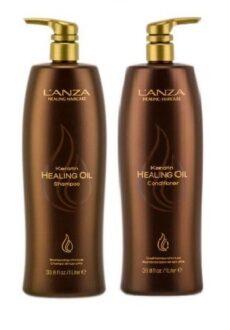 LANZA Keratin Healing Oil Shampoo 1L-0