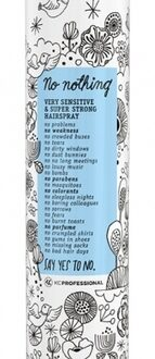 KC Professional No Nothing SUPER STRONG HAIRSPRAY 750 ml-0