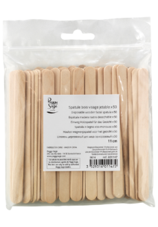 Peggy Sage Disposable wooden body spatula 11cm x 50-0