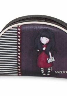 Santoro kosmeetikakott väike punane-0