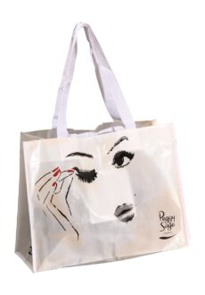 Peggy Sage Nonwoven Shopping Bag Large-0
