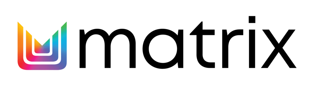 Matrix-2021-Logo-Horizontal-Rainbow-Icon-Black-Text-Outlined-1024x278-min